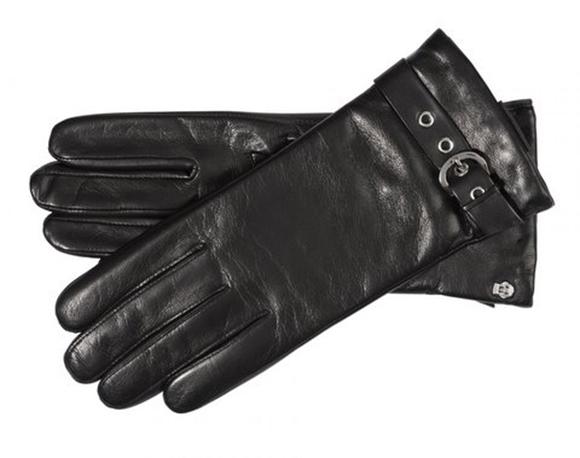 Bild von Handschuhe Roeckl Damen Glamour Buckle black/silver