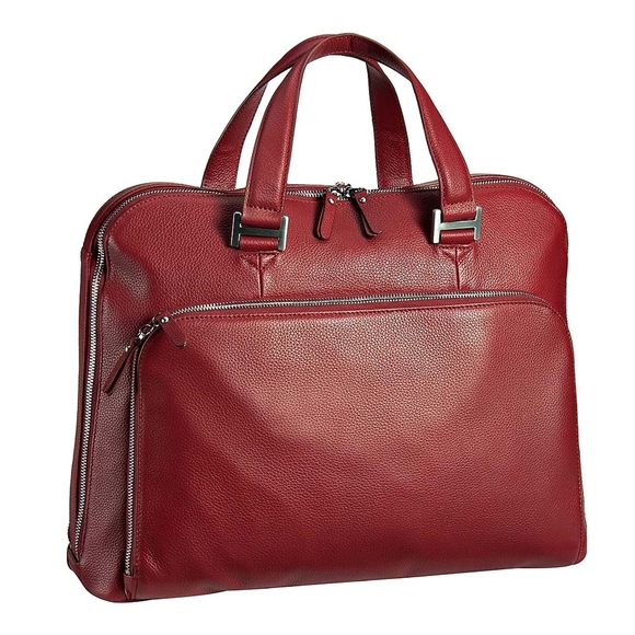 Produktdetails - Leonhard Heyden Montpellier Businesstasche 2 Fächer, Kurzgriff, rot