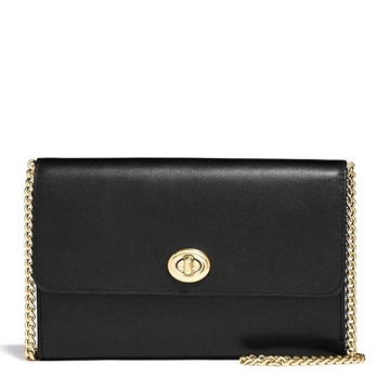 Coach Marlow Chain Crossbody black
